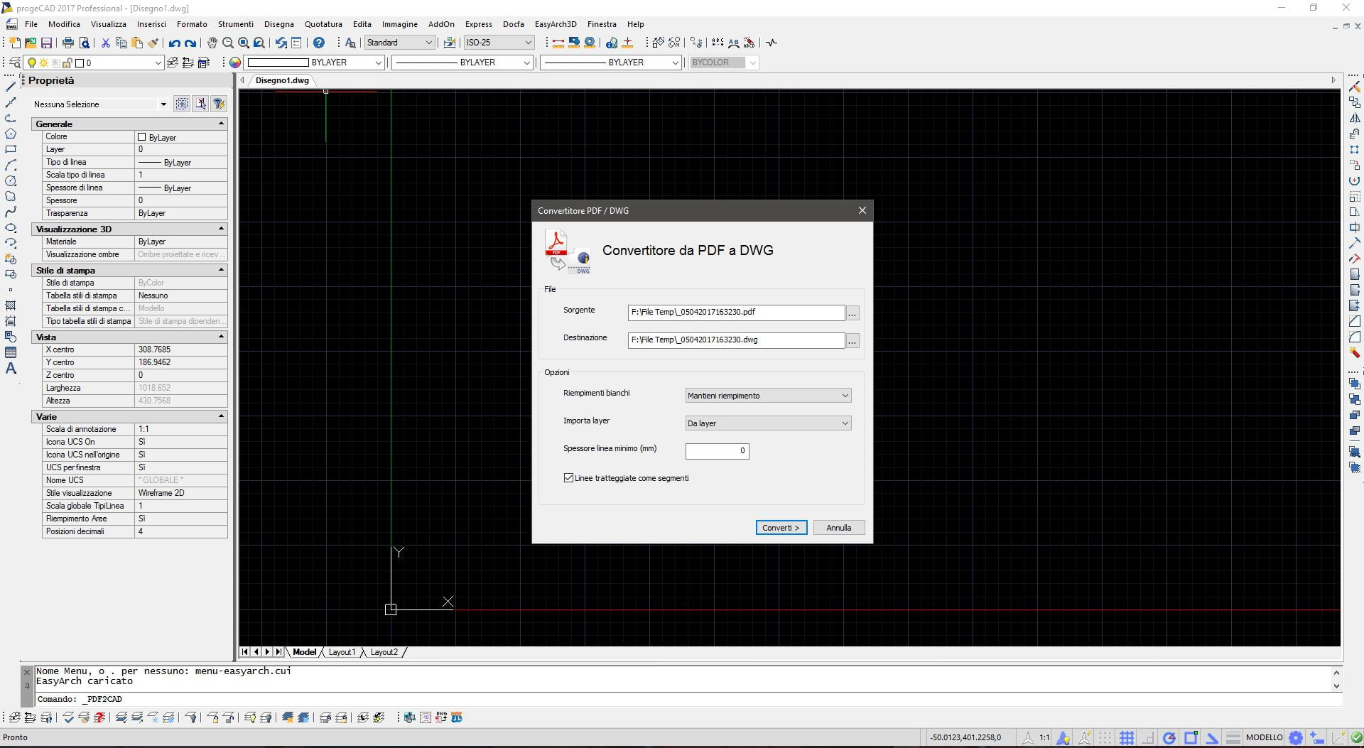 Tutorial da file pdf a shapefile