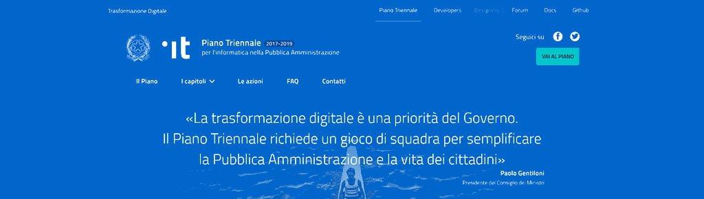 La trasformazione digitale è una priorità del Governo. Il Piano Triennale richiede un gioco di squadra per semplificare la Pubblica Amministrazione e la vita dei cittadini