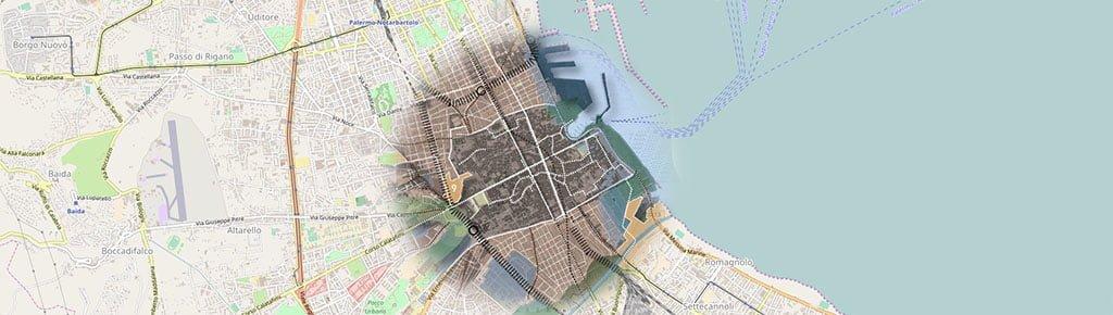 Palermo 2025 - Plamimetria schema di massima del PRG