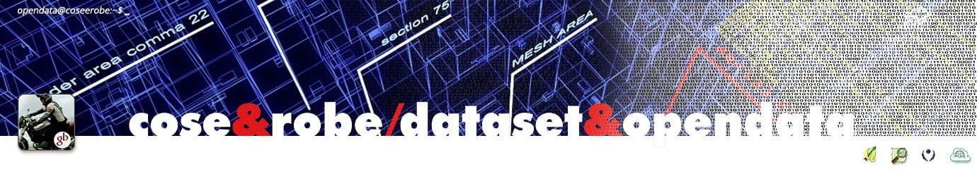 Rielaborazioni dataset opendata - @gbvitrano