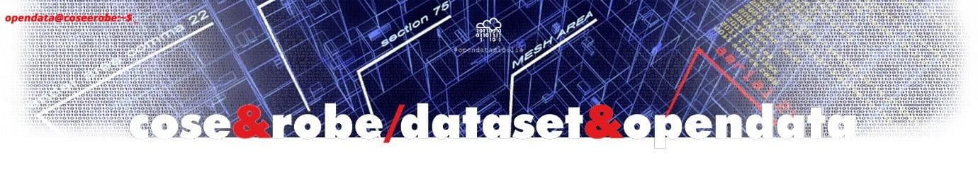 Cose&Robe - Rielaborazioni dataset opendata - @gbvitrano